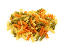 Rollini tricolore pasta Stock Photography
