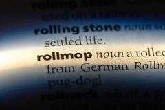 rollmop стоковая фотография