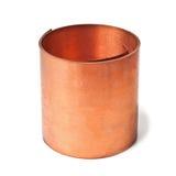 Rollo de cobre Imágenes de archivo libres de regalías