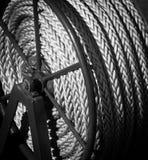 Rollo de la cuerda Fotografía de archivo libre de regalías