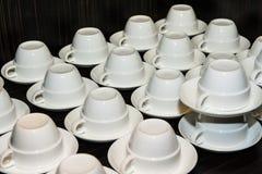 Rollo de la taza de café para el seminario Fotografía de archivo libre de regalías