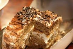 Rollo de la torta Imagenes de archivo