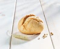 Rollo de pan Foto de archivo libre de regalías