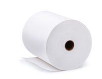 Rollo de papel Foto de archivo libre de regalías