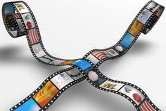 Rollo de película Fotos de archivo libres de regalías