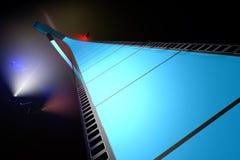 Rollo de película azul Foto de archivo