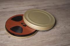 Rollo de película cinematográfico viejo Fotos de archivo libres de regalías