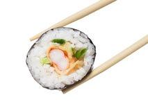 Rollo de sushi Imagen de archivo libre de regalías