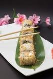 Rollo de sushi de Bonita Imagen de archivo libre de regalías
