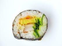 Rollo de sushi de la alga marina Fotografía de archivo libre de regalías