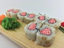 Rollo de sushi de Tnt Foto de archivo libre de regalías