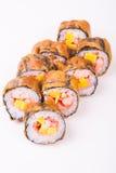 Rollo de sushi frito Imagenes de archivo