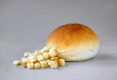 Rollo del cuscurrón y de pan Imagen de archivo libre de regalías