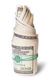 Rollo del dinero Fotografía de archivo