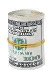 Rollo del dinero Imagen de archivo libre de regalías