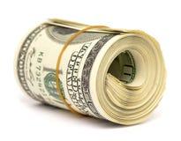 Rollo del dólar Imágenes de archivo libres de regalías