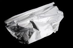 Rollo del papel de aluminio Foto de archivo
