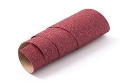 Rollo del papel de lija Imagen de archivo