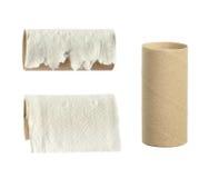 Rollo del papel higiénico Imagen de archivo libre de regalías