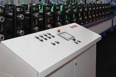 Máquina de la conformación por medio de rodillos Fotografía de archivo