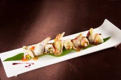 Rollo tailandés de la ensalada de la salsa Imagen de archivo
