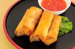 Rollos de Fried Chinese Spring Fotografía de archivo libre de regalías