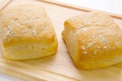 Rollos de pan Foto de archivo