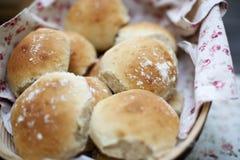 Rollos de pan Imágenes de archivo libres de regalías