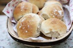 Rollos de pan Foto de archivo libre de regalías