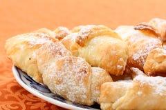 Rollos de pan dulces Imagenes de archivo