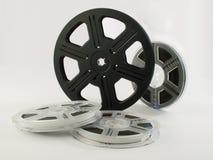 Rollos de película con las películas 4 Fotografía de archivo libre de regalías