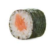 Rollos de sushi aislados en un blanco Fotos de archivo