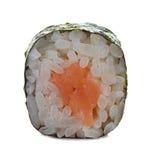 Rollos de sushi aislados en un blanco Foto de archivo libre de regalías