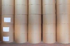 Rollos del papel Fotografía de archivo libre de regalías