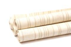 Rollos del papel pintado Imágenes de archivo libres de regalías