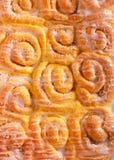 Rollos dulces con la formación de hielo imagenes de archivo
