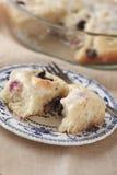 Rollos dulces del arándano hecho en casa Fotografía de archivo libre de regalías