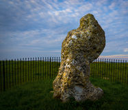Rollright stones ancient monument in Oxfordshire Royalty Free Stock Image