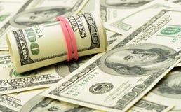 Rolls долларов Стоковые Фото