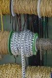 Rolls декоративных цепей Стоковое фото RF