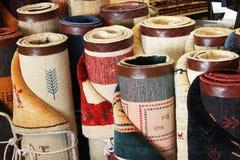 Rolls или перские ковры Стоковое Изображение