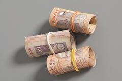 Rolls индийских рупий Стоковое Изображение