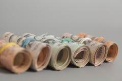 Rolls индийских рупий Стоковые Фото