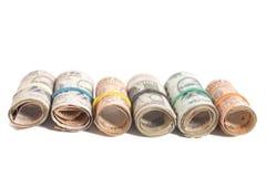 Rolls индийских рупий Стоковые Изображения