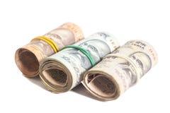 Rolls индийских рупий Стоковая Фотография RF
