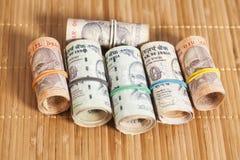 Rolls индийских рупий Стоковое Изображение RF