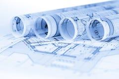 Rolls светокопий архитектуры стоковые изображения rf