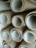 Rolls. Cardboard rolls Royalty Free Stock Image