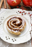 Rolls with apple and cinnamon Royalty Free Stock Photography