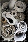 Rolls av pappers- Arkivfoto